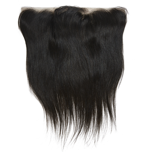 Virgin Brazilian Straight Frontal 12 - Harlem Hair Company