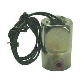 "Water Solenoid Valve, 2-Way 1/8"" NPT, 115 Volt, 12"" Leads 1/2"" Hub Mount - DCI 2831 - Avtec Dental"