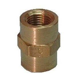 "1/2"" x 3/8"" FPT Reducing Coupler - DCI 0900 - Avtec Dental"