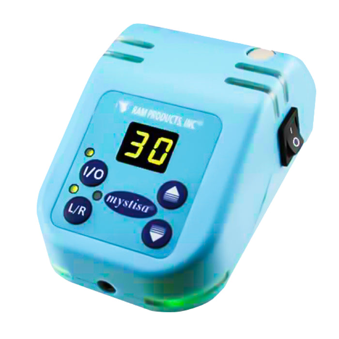 Mystisa Table Control Box Only - Blue - Avtec Dental