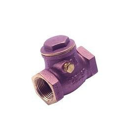 "Brass Swing Check Valve, 3/4"" - DCI 2676 - Avtec Dental"