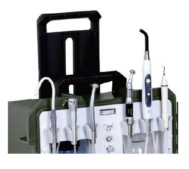 TPC PC2930 Portable Dental Unit w/ Built in LED Curing Light & Piezo Scaler - Avtec Dental