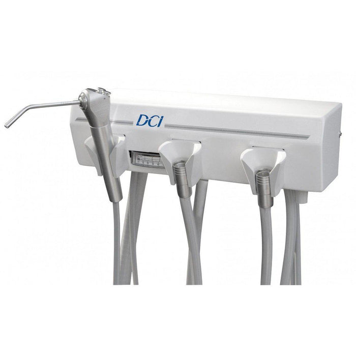 Alternative Arm Mounted 2 Wet w/Tray & White Flex Arm - DCI 4129 - Avtec Dental