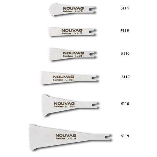 Nouvag Saw Blades for Sagital Saw MOS 5000 (5110) - Avtec Dental