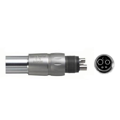 Sabra C-5 Fiber Optic Handpiece Coupler