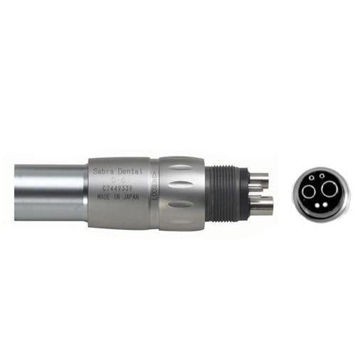 Sabra C-6 Fiber Optic Handpiece Coupler w/ LED Bulb - Avtec Dental