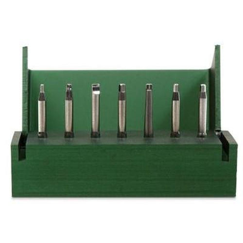 Latch-type Bits (Set of 7) for Right-Angled Driver - Avtec Dental