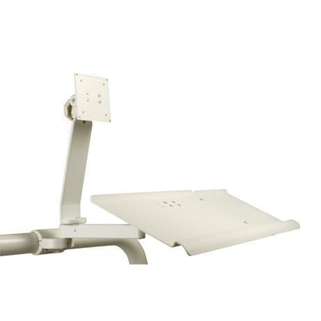 Flat Panel Monitor - Horizontal Tube Mounted - Gray - DCI 4871 - Avtec Dental