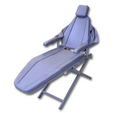 Supreme Portable Patient Chair with Scissors Base - Avtec Dental