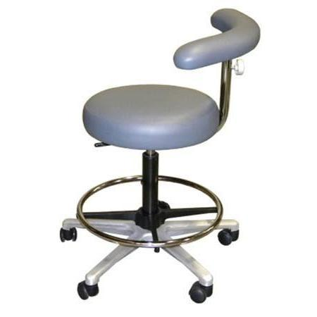 Portable Assistant's Stool - Avtec Dental