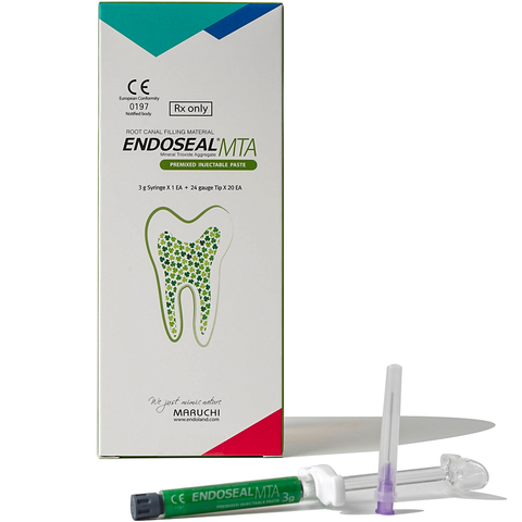 EndoSeal MTA (3g syringe - 20 Tips) - Avtec Dental