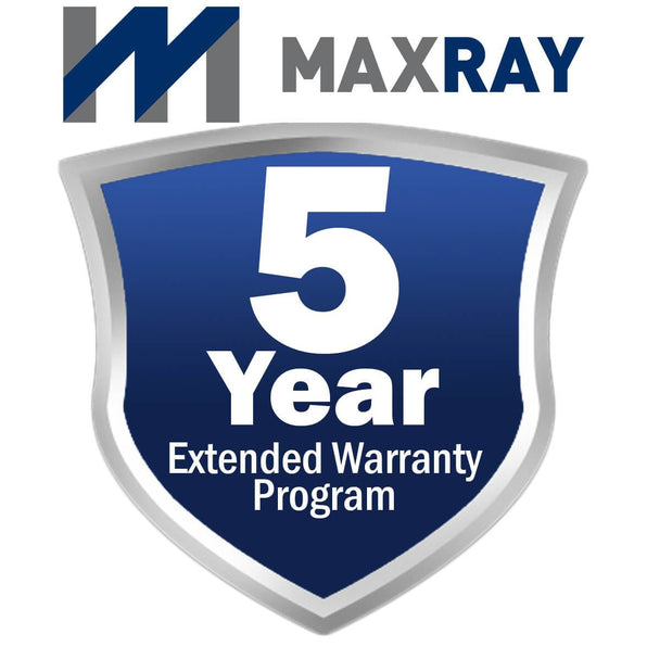 5 Year Extended Warranty for MaxRay X-Ray Units