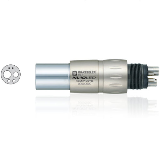 NL10LED Fiber Optic Handpiece Coupler - Avtec Dental