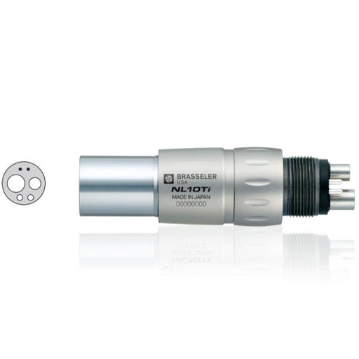 NL10Ti Fiber Optic Handpiece Coupler - Avtec Dental