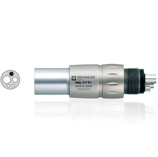 NL11Ti Fiber Optic Handpiece Coupler - Avtec Dental