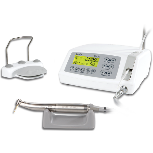 Saeyang KI-20 Implant Motor with 20:1 Optic LED Handpiece - Avtec Dental