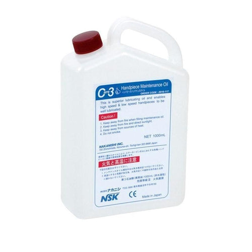 NSK Care3 Maintenance Oil - Avtec Dental