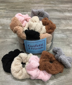 Teddy Bear Scrunchie