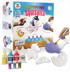 Paint Your Own Rainbows & Unicorn Squishies