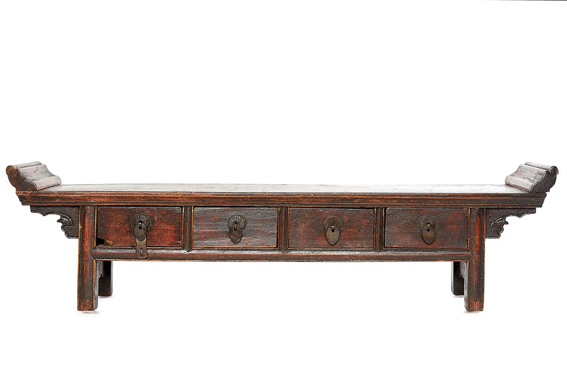 Antique Tibetan Altar with Drawers