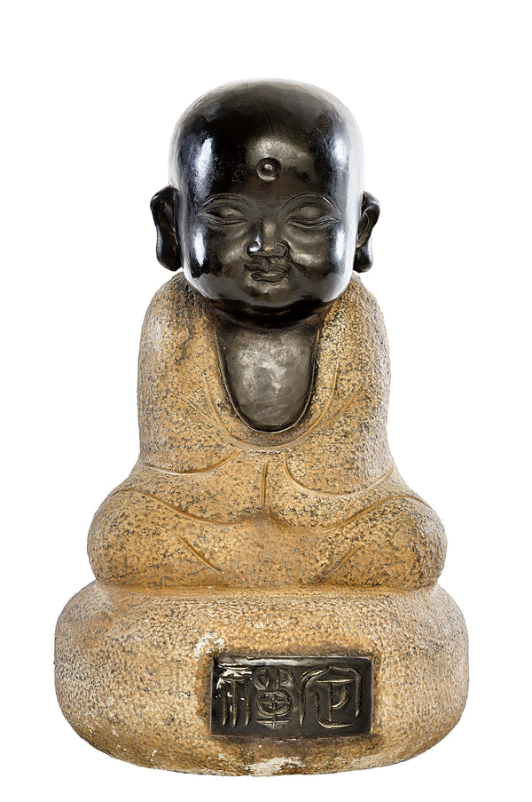 Good Fortune Baby Monk with Gold LG