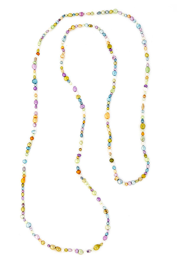 Multi-color Freshwater Pearl Necklace