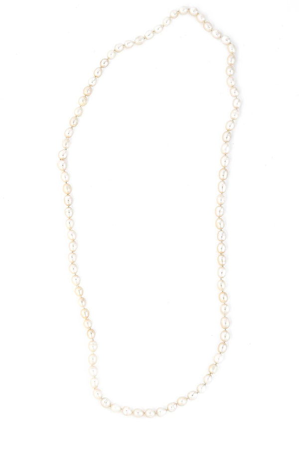 Beautiful Hand Knotted Endless Freshwater Pearl Necklace
