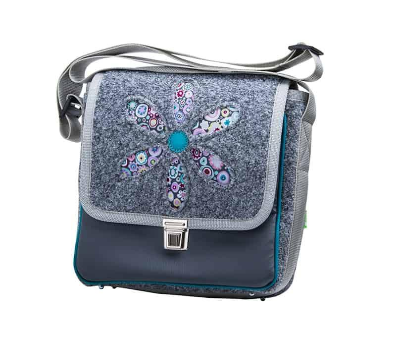 CITY BAG Retroblume Gray