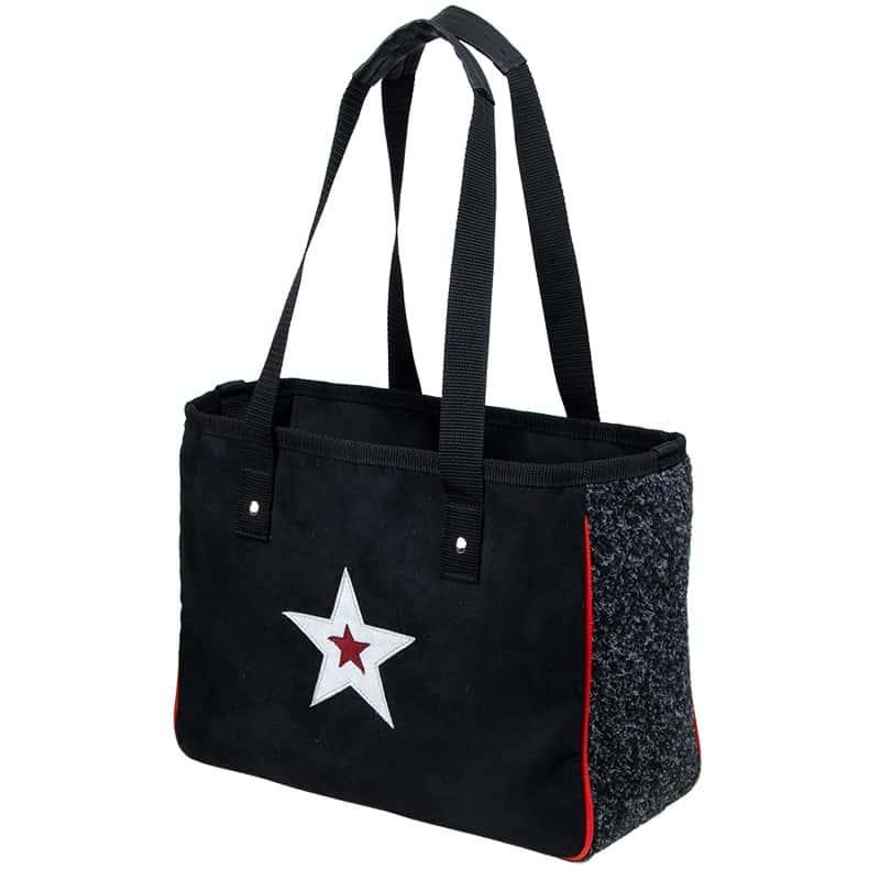 CITY SHOPPER Star Silver 37x28x15 cm