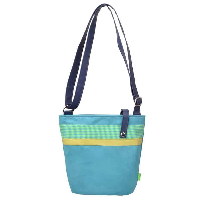Umhängetasche-18-DS-400-Daily-Bag-Small-vichy-kiwi-türkis