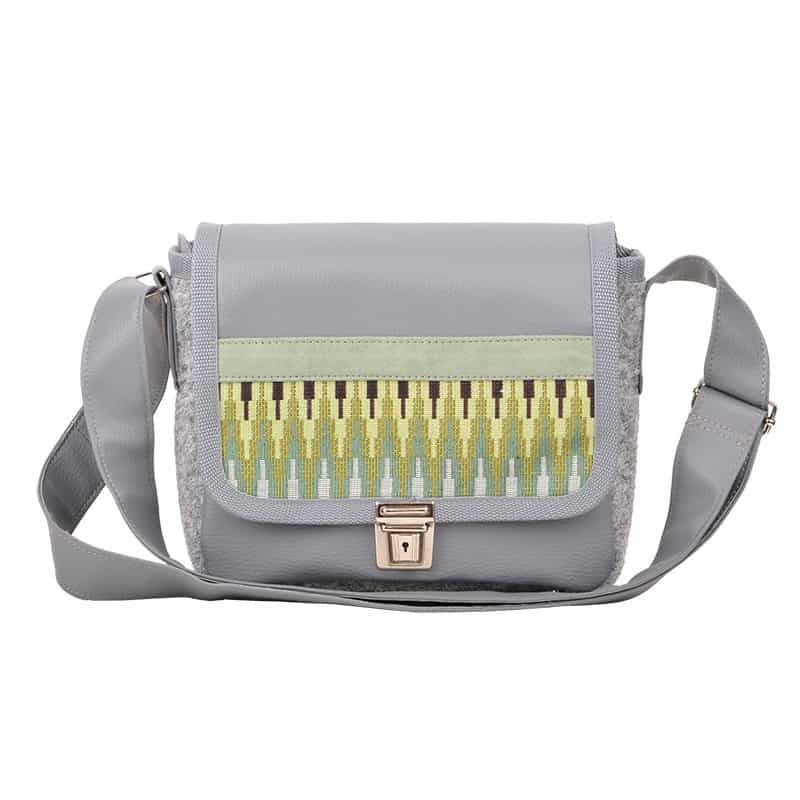 Multicolor stripe green (XS Bag)