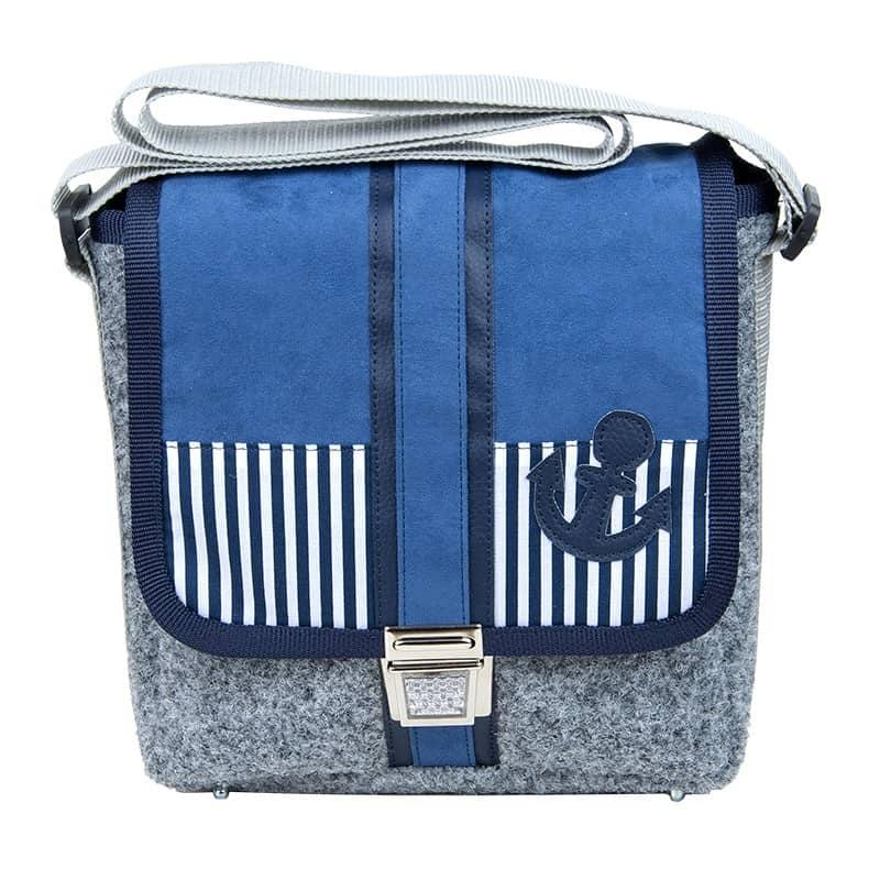 City Bag Anker blue
