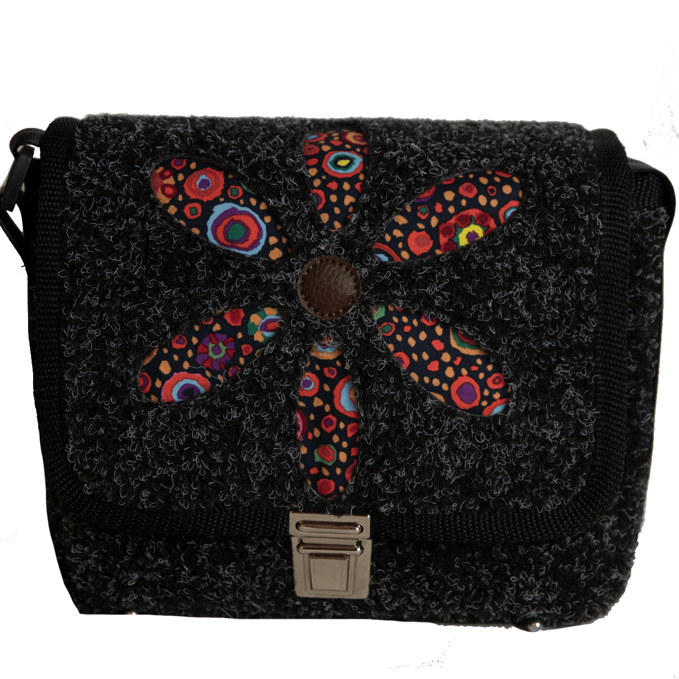 XS BAG Retroflower Black