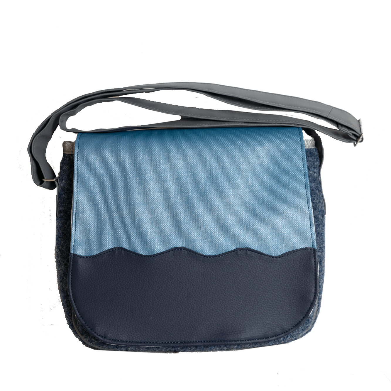 Saddle Bag Wave Denim