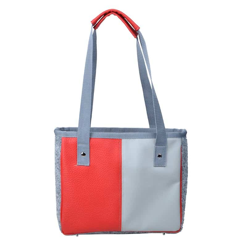 Schultertasche-Mini-Shopper-red-grey