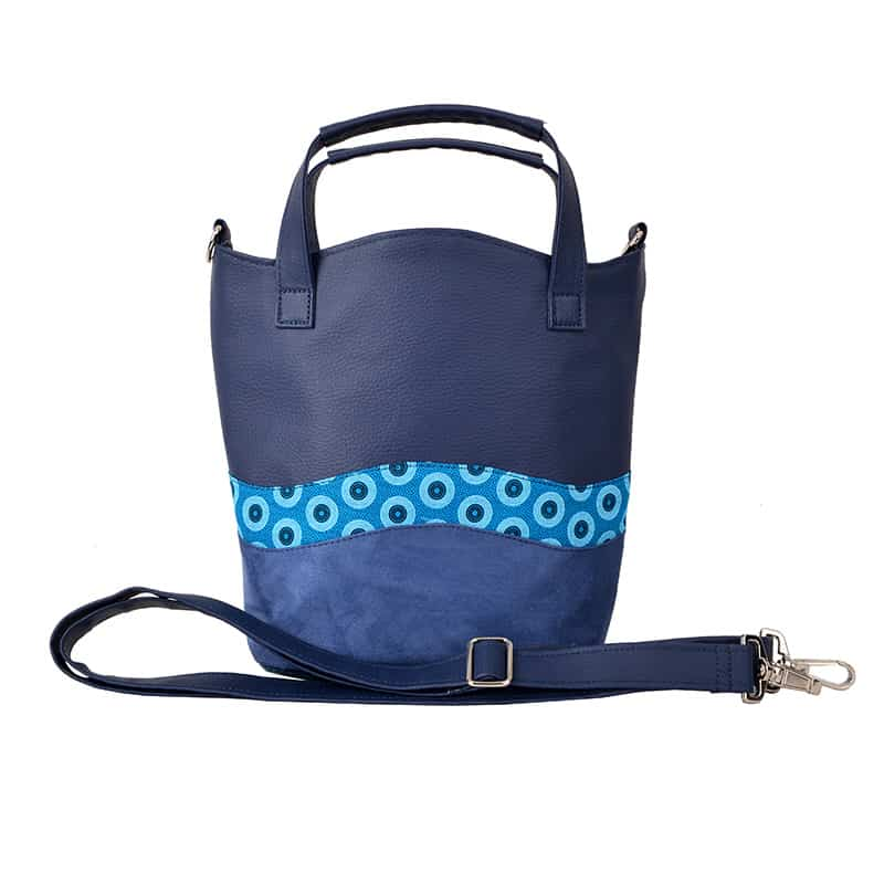 WAVE BAG Circle Blue Türkis