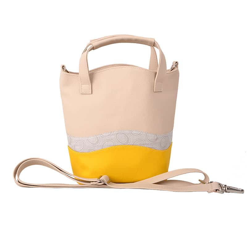 WAVE BAG Ornament Beige Yellow