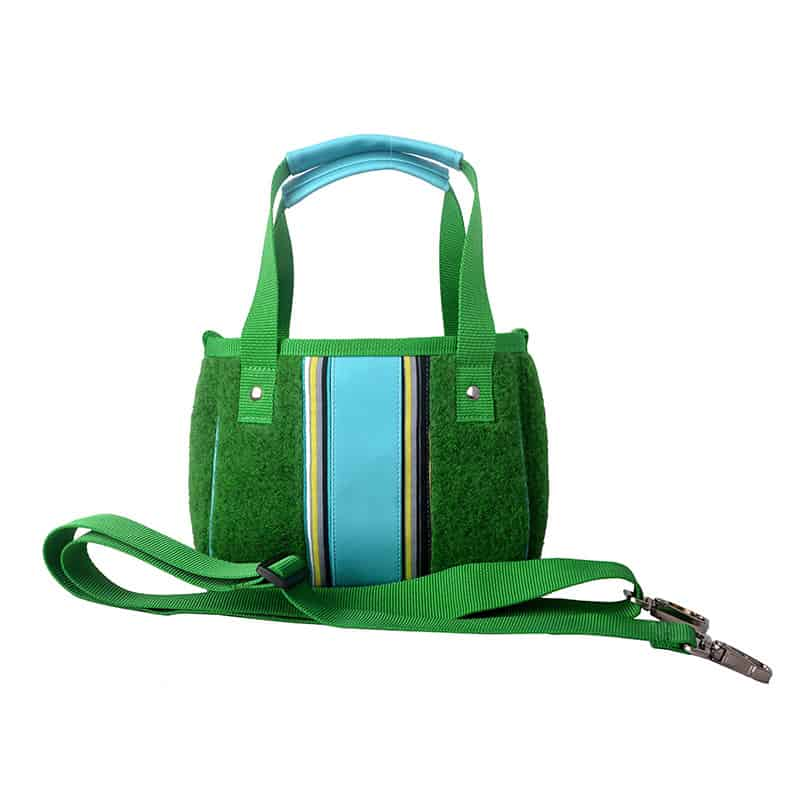 XS SHOPPER Stripes Green