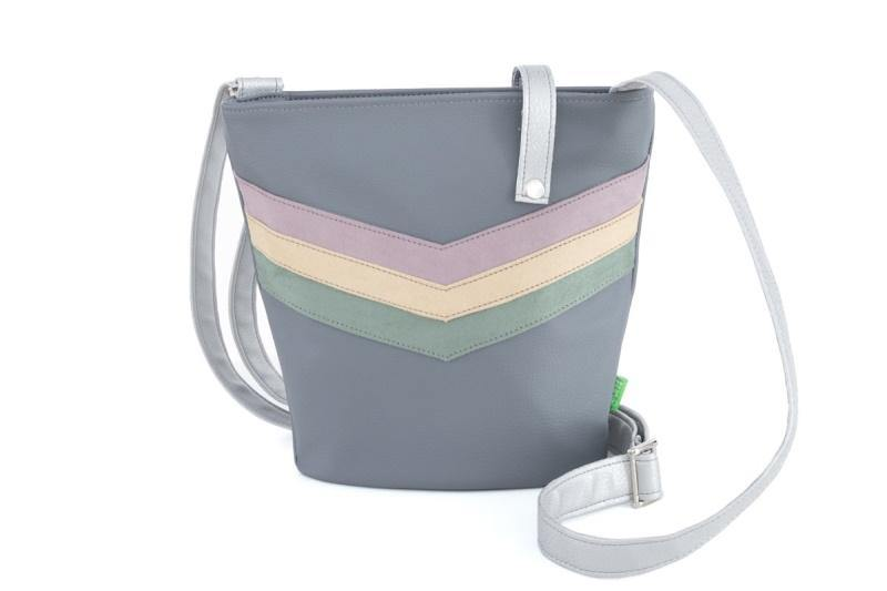 Daily Bag small V-Stripe pastell