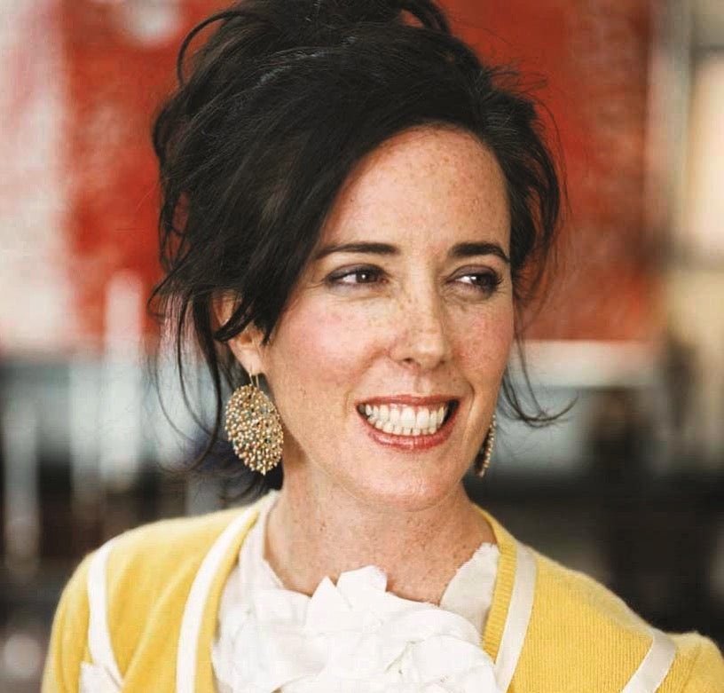 A small moment of silence for Designer Kate Spade