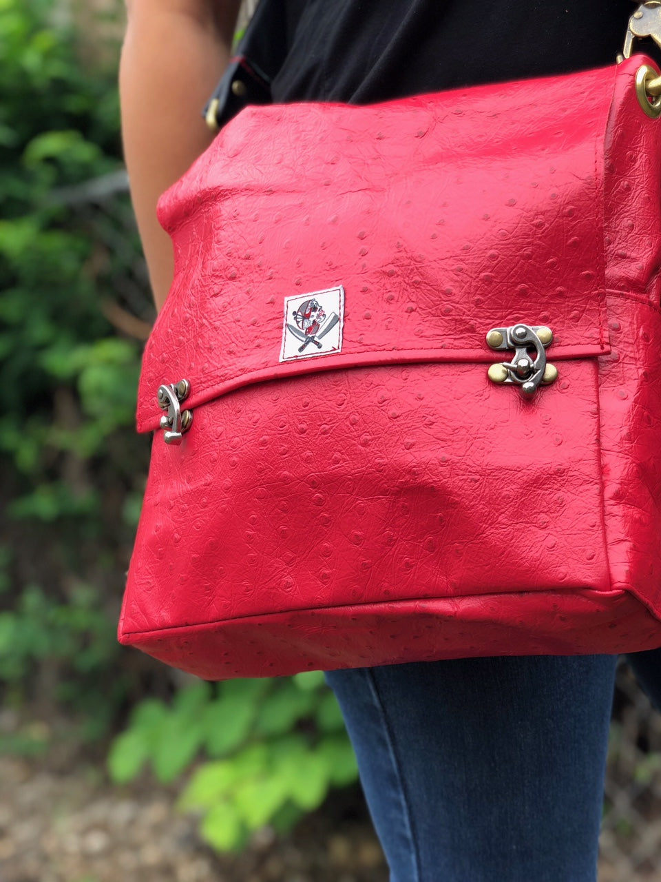 Have you seen our new small leather tote bag??