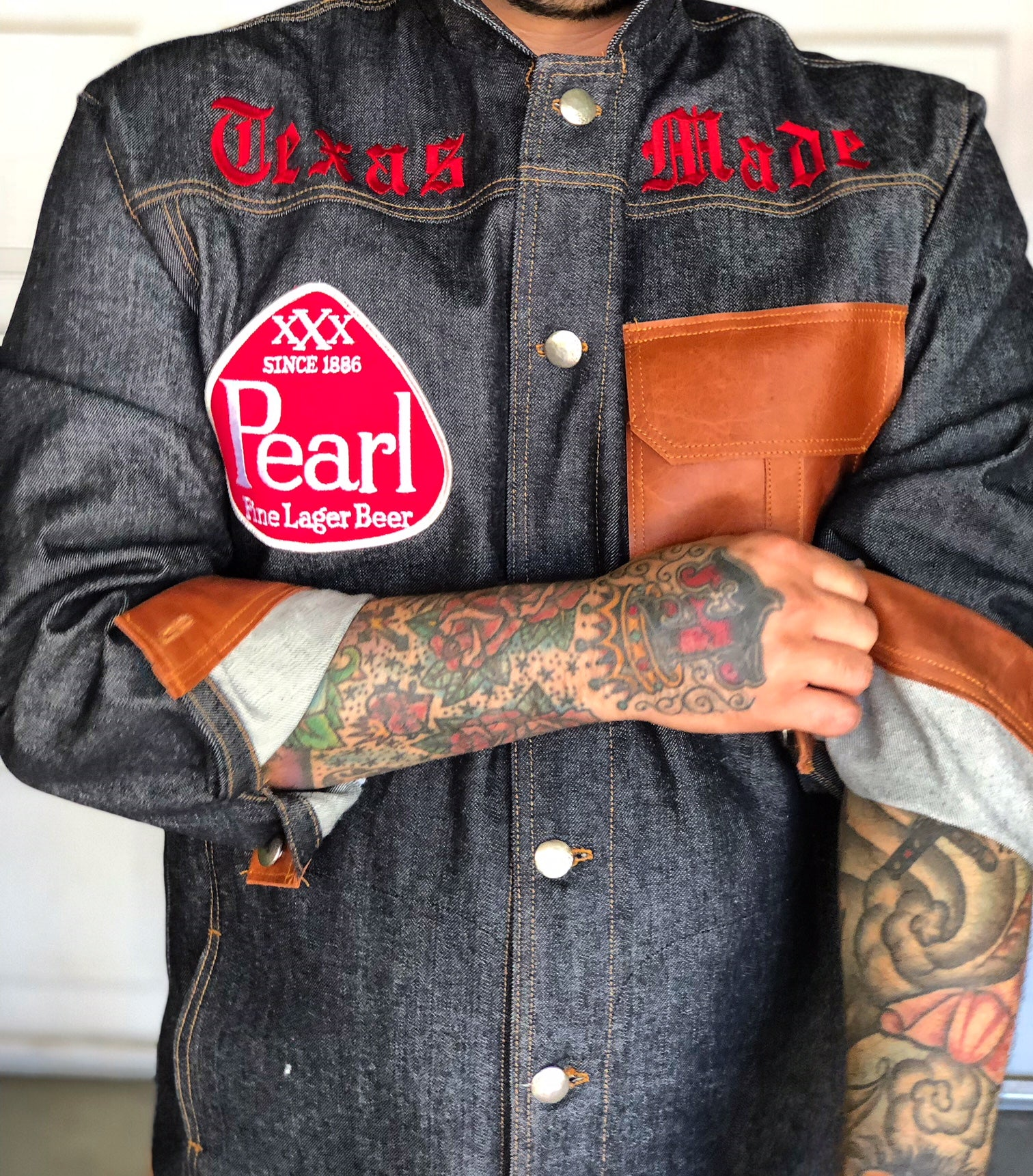 """Texas Made"" denim jacket"