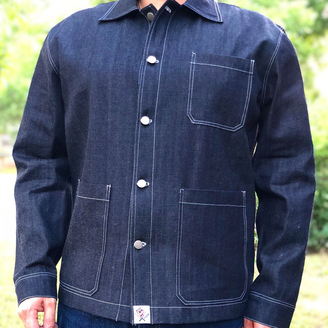 "Denim jacket "" The Soldier """