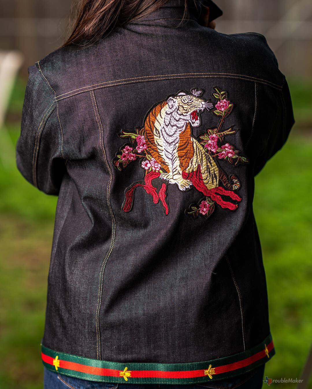 """California Dreamin"" women's denim jacket"