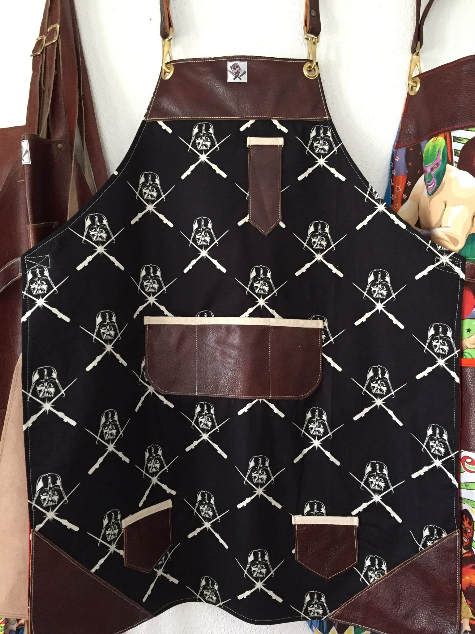 Darth Vader makes me happy apron (Star Wars)