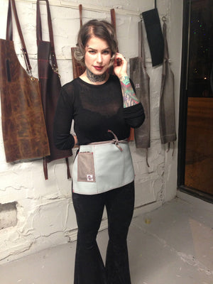 Leather cocktail aprons