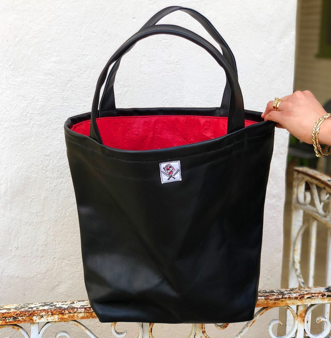 """The DayWalker"" XXLarge leather Tote bag"