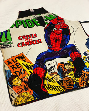 Spider man apron