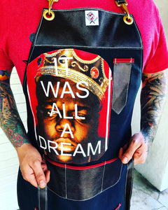 """It was All a Dream"" apron"