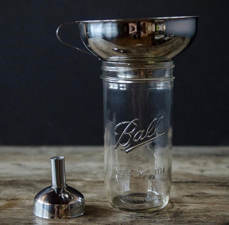 Wide-mouth Funnel | Stainless Steel